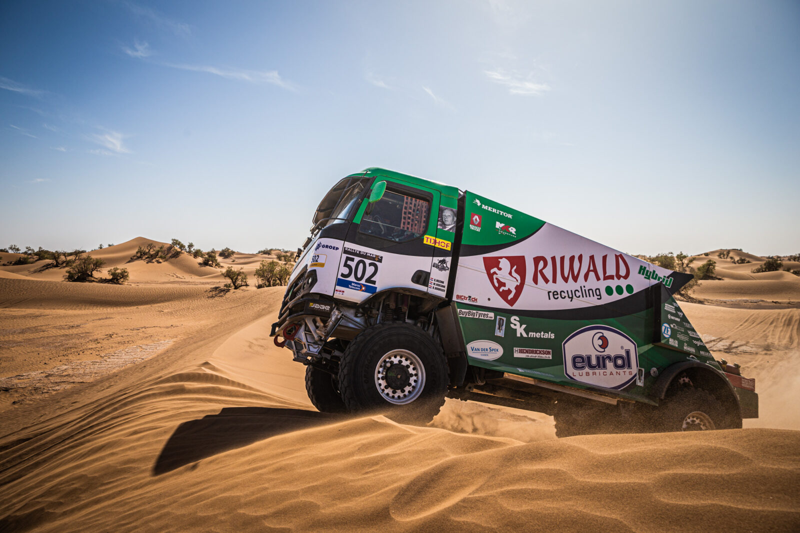Rallye du Maroc stage 1
